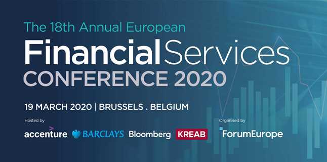 Accenture and Bloomberg join host line up for The European Financial Services Conference