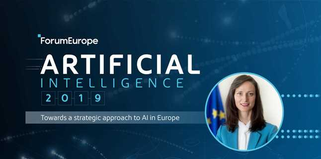 Commissioner-designate Mariya Gabriel to open the 2nd Annual European Artificial Intelligence Conference