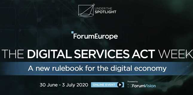 Forum Europe announces The Digital Services Act Week