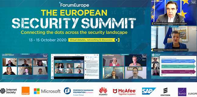Bringing together policy strands of the new security strategy at the European Security Summit