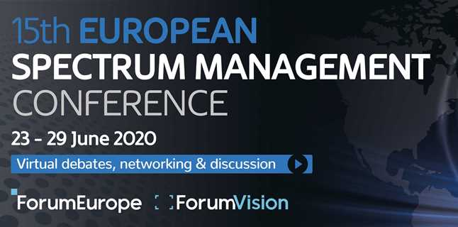 The 15th European Spectrum Management Conference… an event of many firsts!
